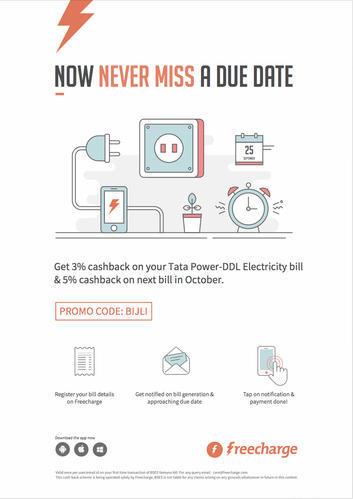 Advertisement Space On Tata Power Bills