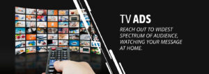 Television Advertising banner by sb advertising media